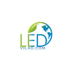 FÉNYÚJSÁG SZÍNES 230cm x 56cm RGB LED REKLÁMTÁBLA KÜLTÉRI KIVITEL LEDbox