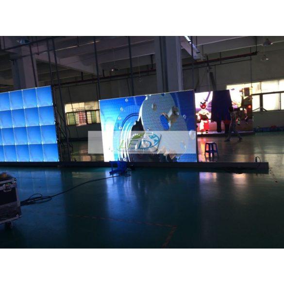 LED VIDEÓFAL SZÍNES 15m2 3meter x 5 méter  P8 SMD LED KÜLTÉRI KIVITEL LEDbox