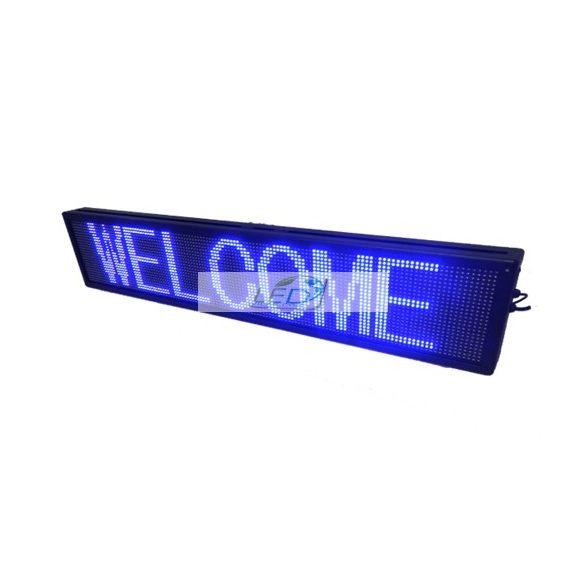 FÉNYÚJSÁG Kék 170cm x 20cm EGYSZÍNŰ LED REKLÁMTÁBLA KÜLTÉRI KIVITEL LEDbox