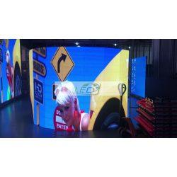 LED VIDEÓFAL SZÍNES 51,2 cm x 51,2 cm FLEXIBILIS P4 SMD LED BELTÉRI KIVITEL LEDbox