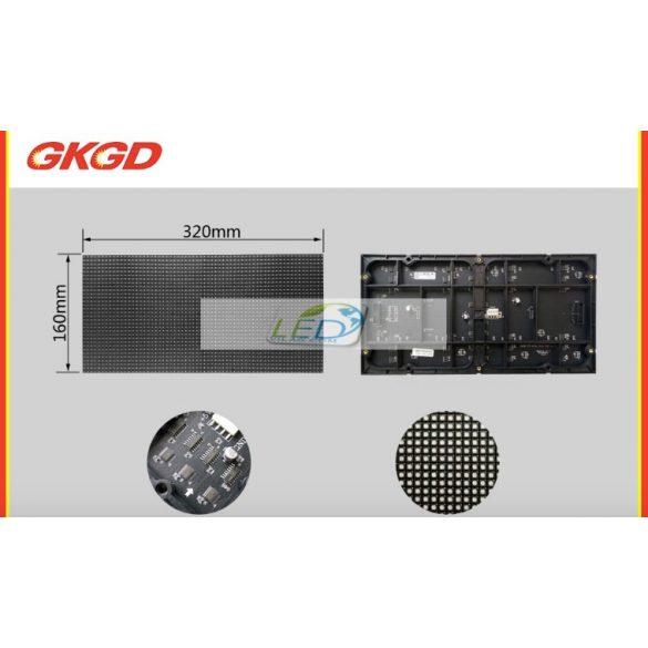 LED VIDEÓFAL SZÍNES 520cm x 256cm P5 SMD LED KÜLTÉRI KIVITEL LEDbox
